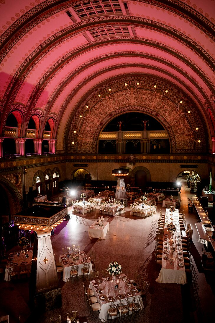 The Grand Hall at Union Station St. Louis Wedding