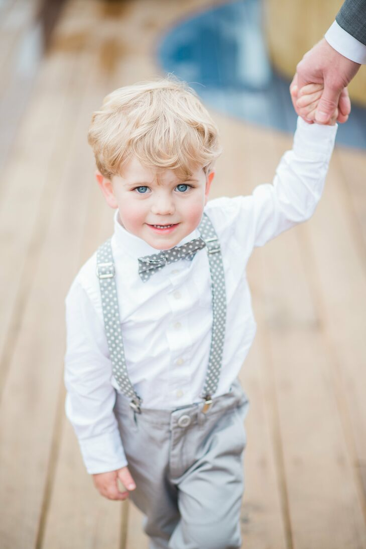 Old Timey Ring Bearer Style