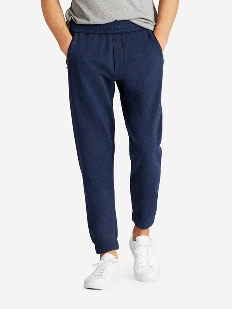 navy blue sweatpants anniversary gift for him