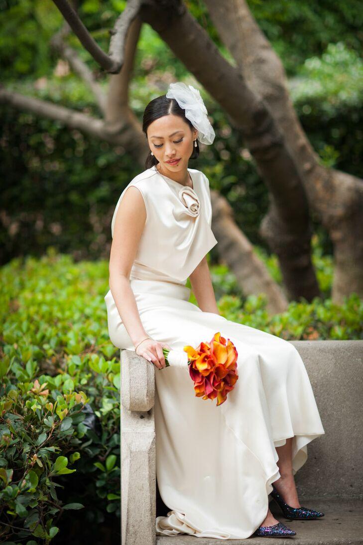 Formal Ivory David Fielden Wedding Dress