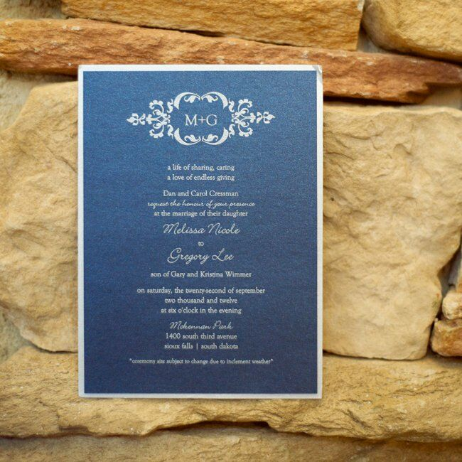 A Traditional Blue Wedding In Sioux Falls, SD