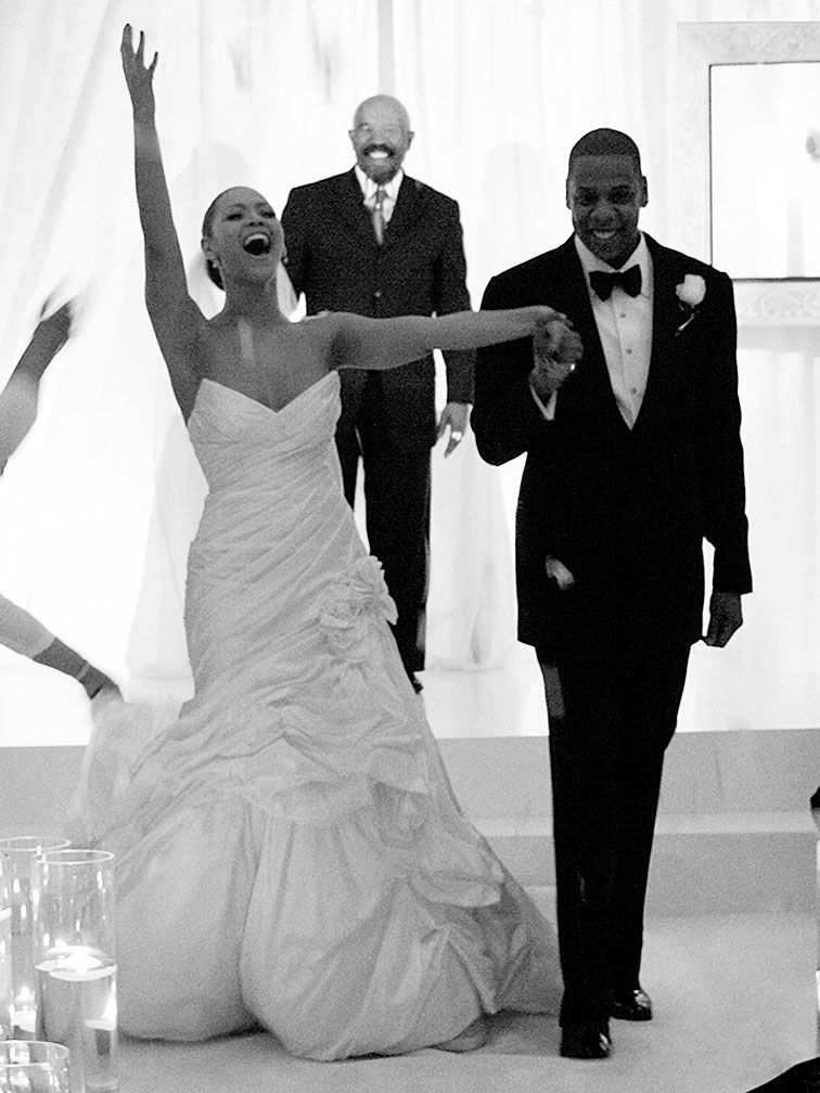 50 standout celebrity wedding dresses beyonc wedding dress junglespirit Gallery