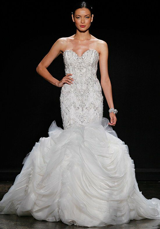 Lazaro 3400 Wedding Dress The Knot