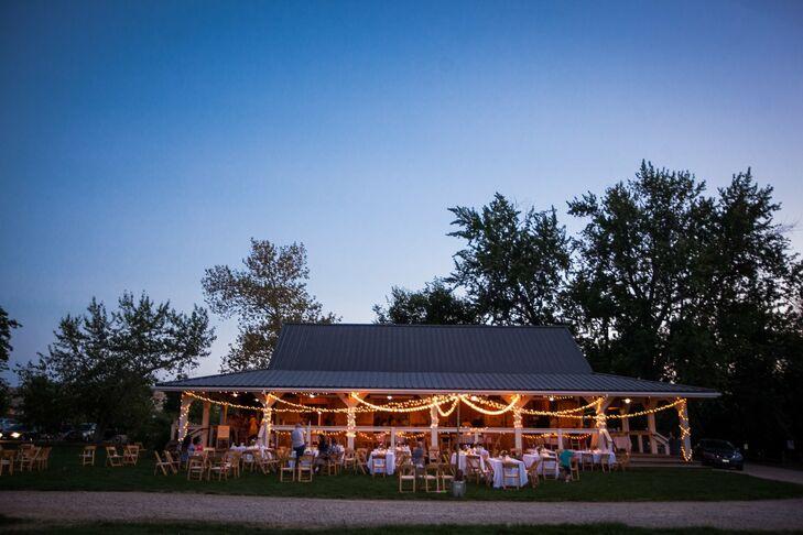 a hidden springs barn wedding in boise  idaho