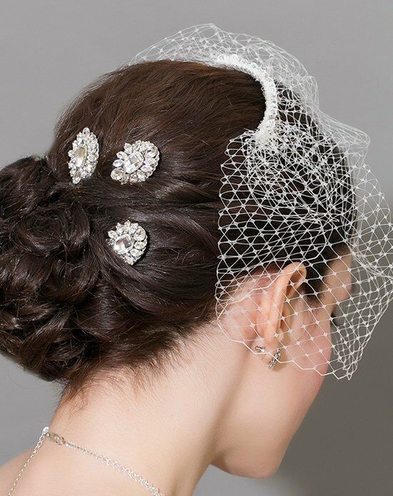Laura Jayne Vivienne Hair Pins Wedding Accessory photo