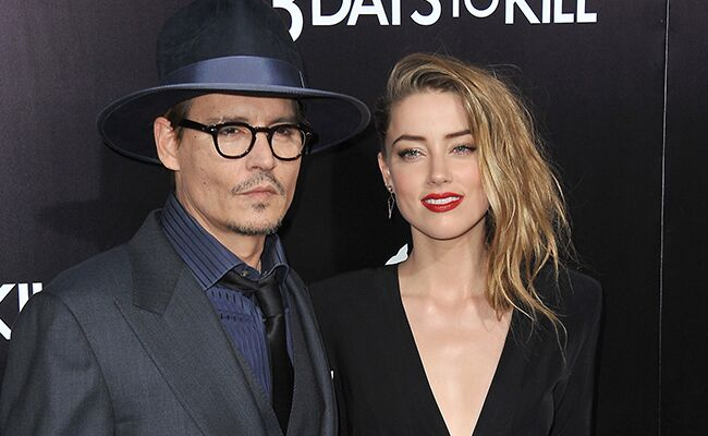 Johnny Depp and Amber Heard Secretly Got Married at Their Home!