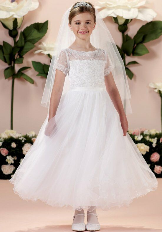 Joan Calabrese by Mon Cheri 114344 Flower Girl Dress photo