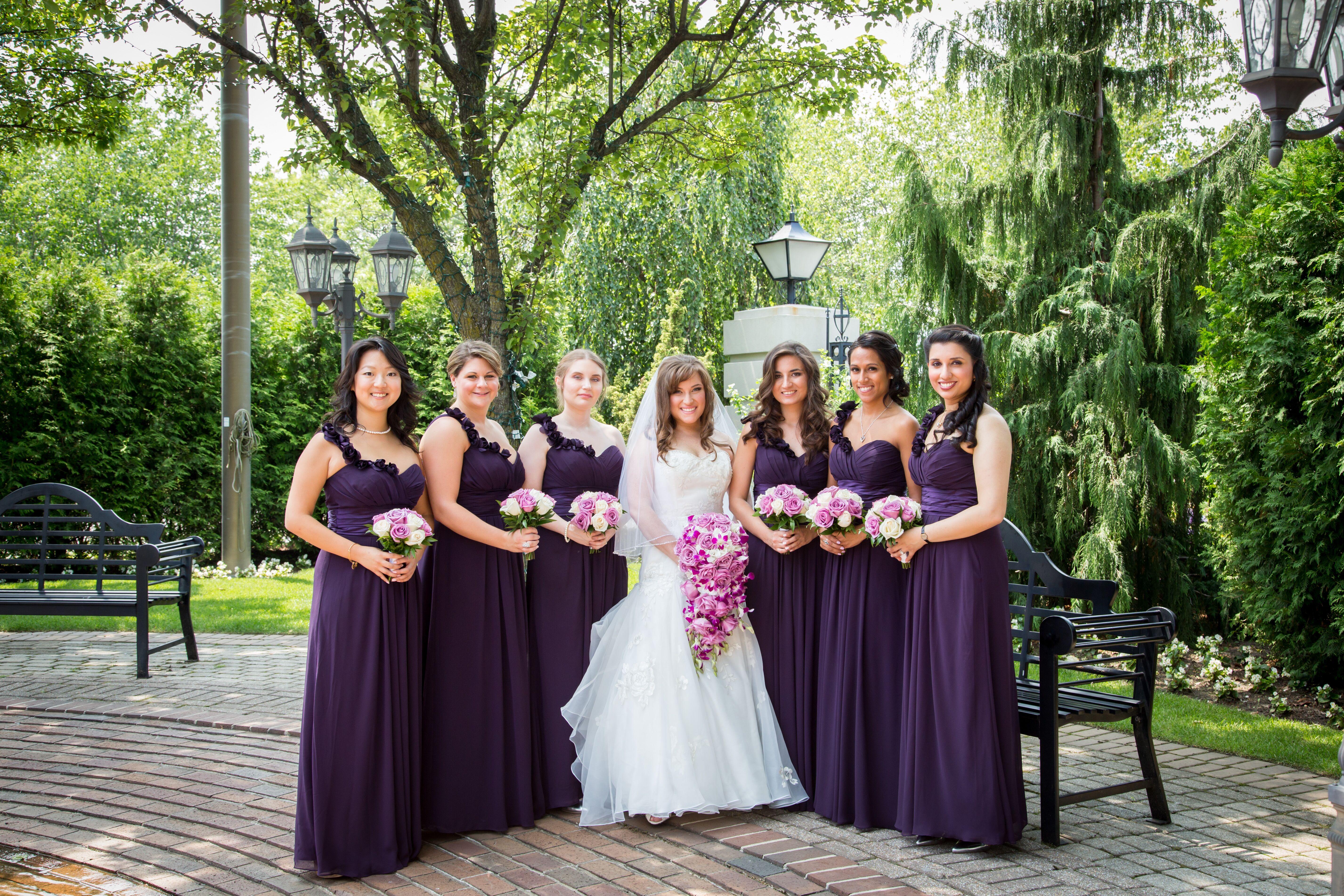 lilac bridesmaid and groom - HD5706×3804