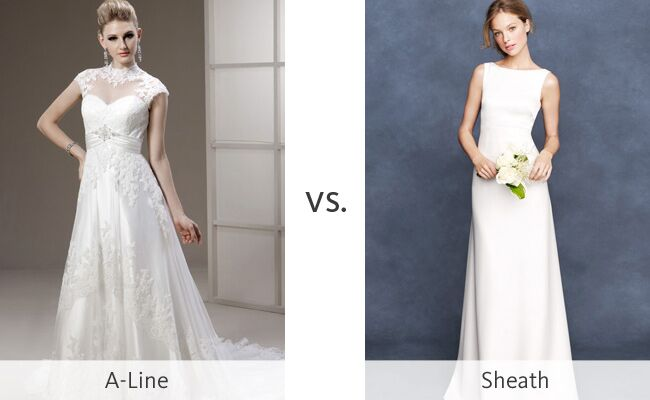 A Line Wedding Dress: A-Line Wedding Dresses Vs. Sheaths #WeddingMadness