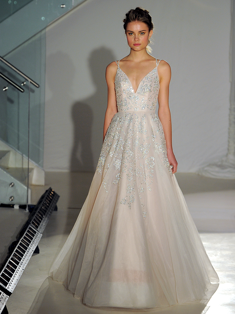 whimsical wedding dress hayley 2017 collection bridal fashion week 1289