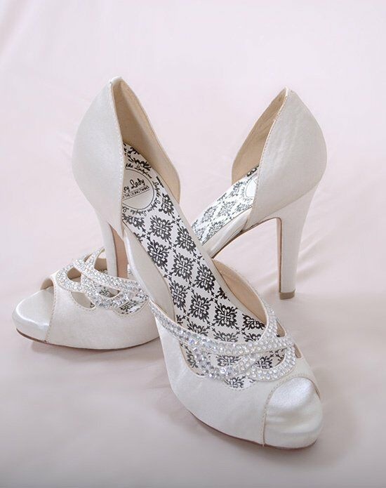 Hey Lady Shoes Knotty Girl White Wedding Accessory photo