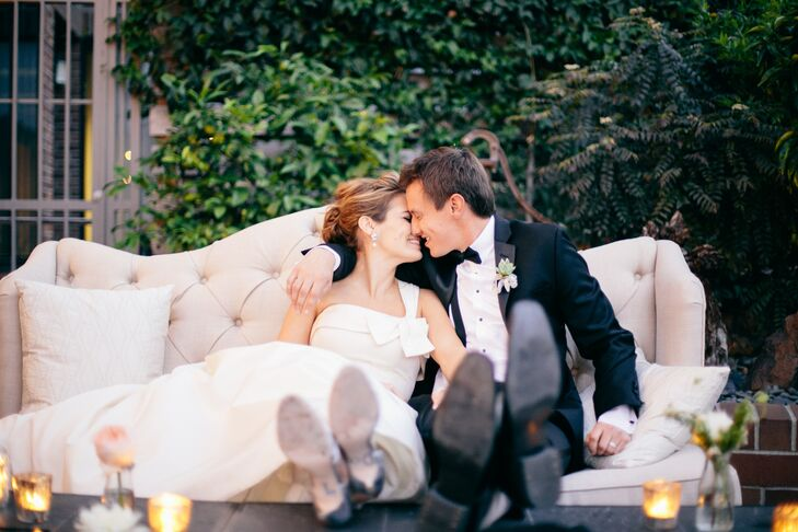 A Whimsical Rustic Chic Wedding At Tiato In Santa Monica California