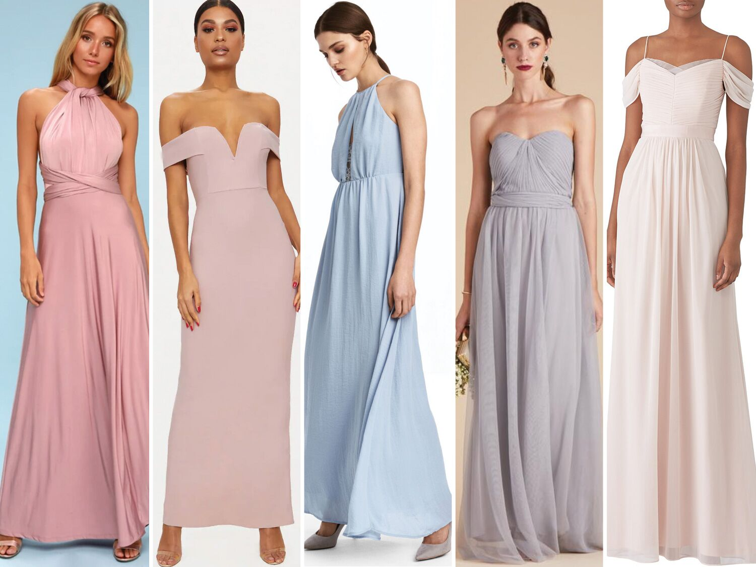 7b72b720c3 55 Affordable Bridesmaid Dresses That Don t Look Cheap