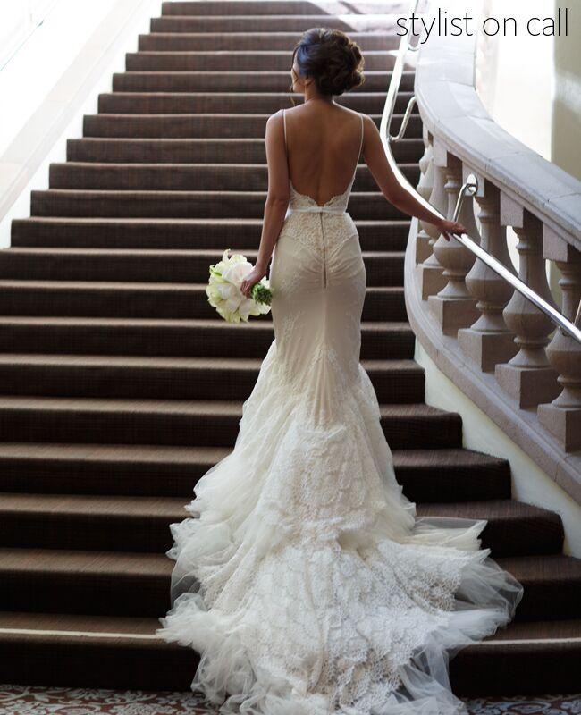 Inbal Dror Wedding Dress Nicole Caldwell Studio Blog Theknot