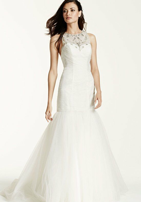 David's Bridal Galina Signature Style SWG679 Wedding Dress photo
