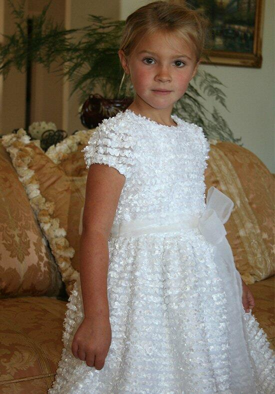 Isabel Garretón Distinct Flower Girl Dress photo