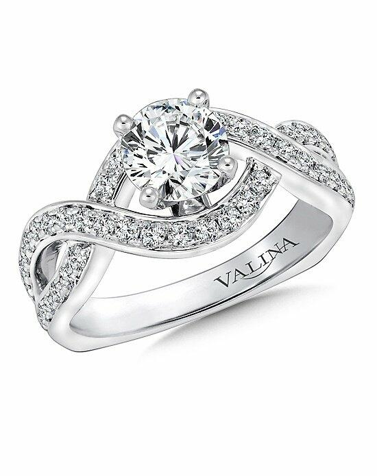 Valina R9245W Engagement Ring photo