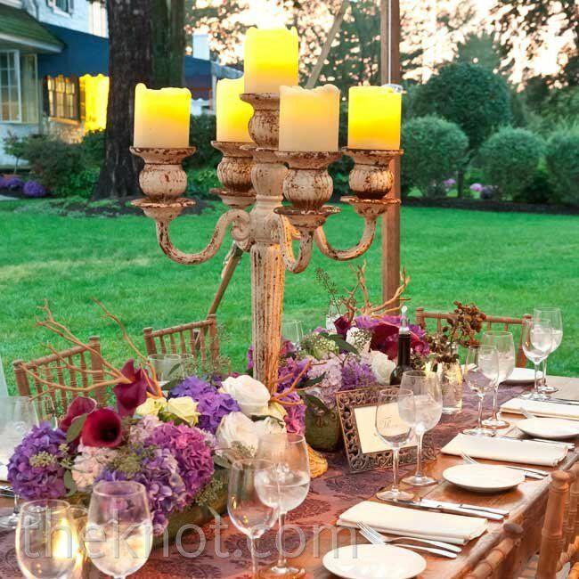 Eclectic Wedding Reception Decor