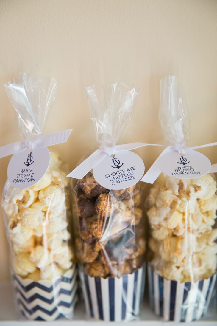 Gourmet Popcorn Wedding Favors