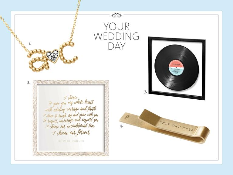 Wedding Gift Ideas For Previously Married Couple : Gift ideas for the wedding day