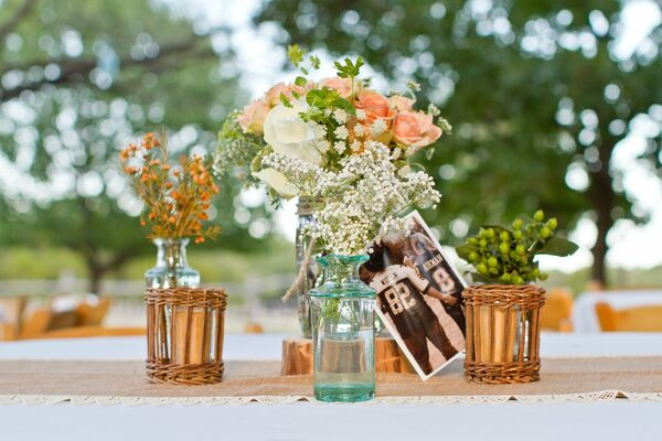 Reception Centerpieces and Decor