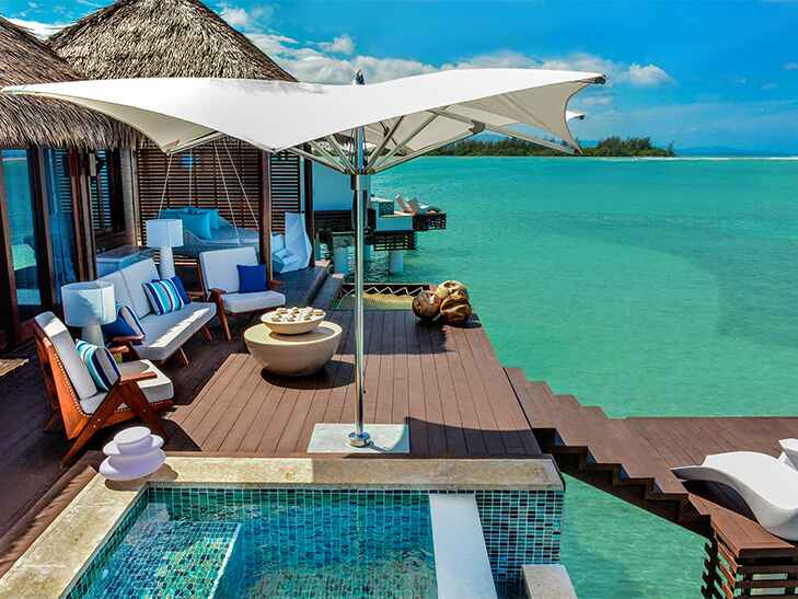 sandals overwater bungalows and villas