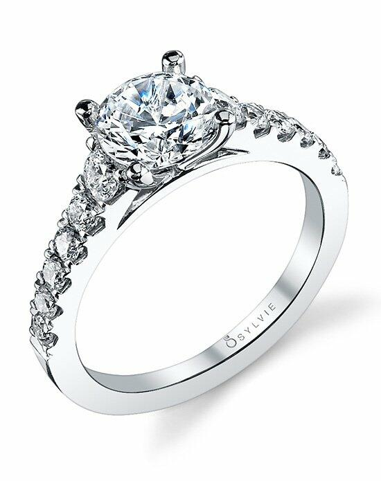 Sylvie Collection S1127 Engagement Ring photo