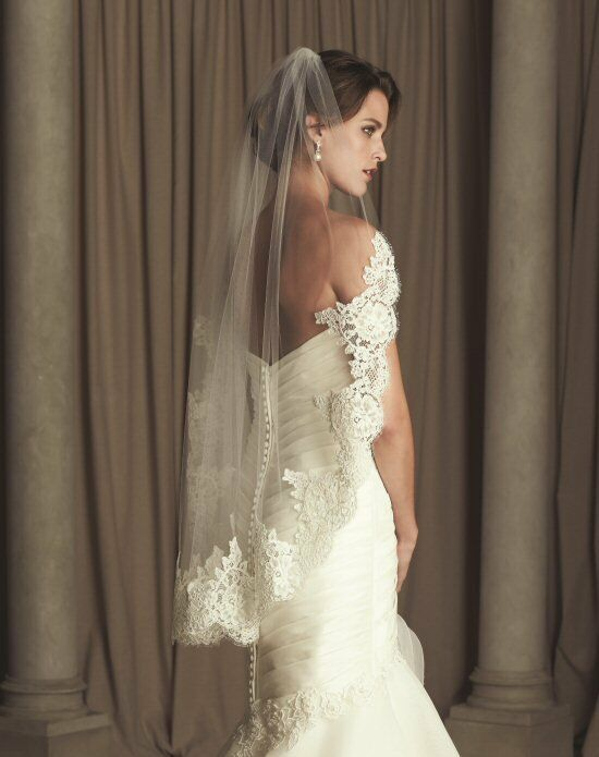 Paloma Blanca Veils Collection V440F Wedding Accessory photo