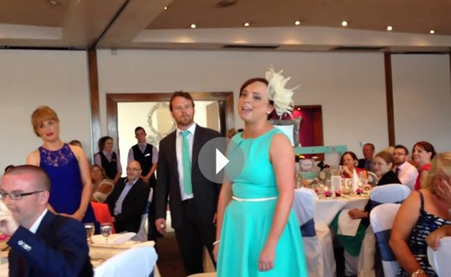 Watch These Wedding Guests Wow a Bride and Groom with 'Seasons of Love' from 'Rent'!
