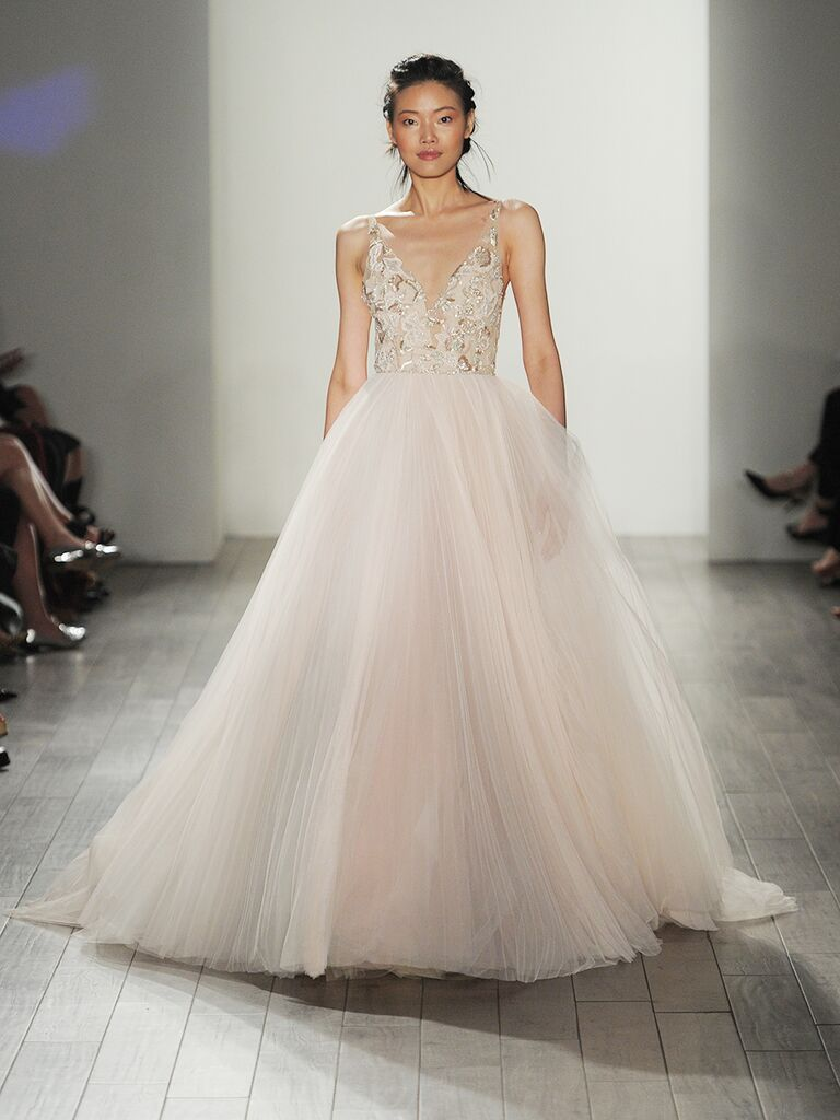 Lazaro Fall Collection Bridal Fashion Week Photos