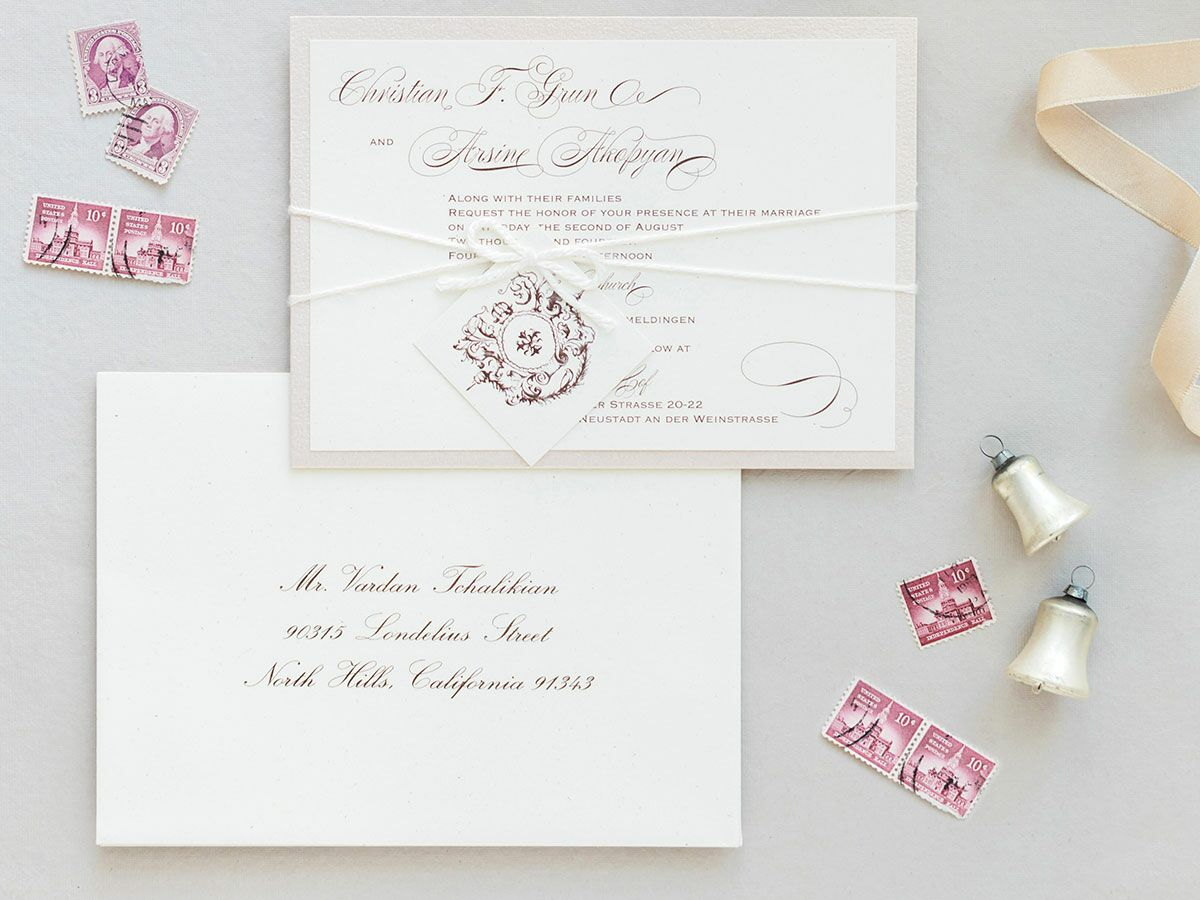 Wedding Invitation Picture: 6 Postage Tips For Wedding Invitations