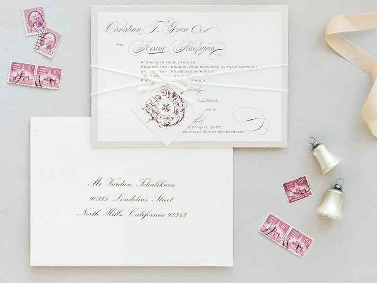 Wedding Invitation Picture Ideas: 6 Postage Tips For Wedding Invitations
