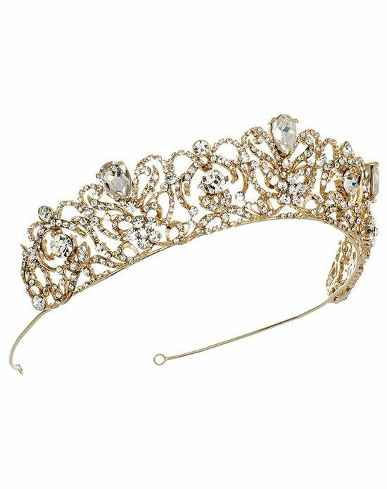 USABride Royal Princess Crown TI-3175-G Wedding Tiaras photo