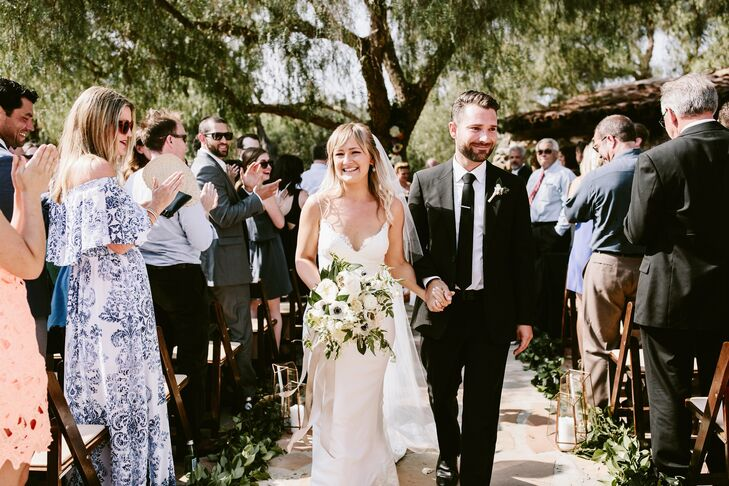 """I really wanted the venue to speak for itself,"" Mira says of Leo Carrillo Ranch in Carlsbad, California. ""I wanted to embrace its elements and add simple touches to heighten the natural beauty that was already there."""