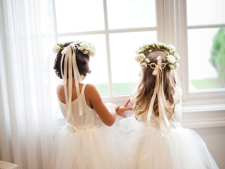A Flower Girl's Guide to Getting Ready