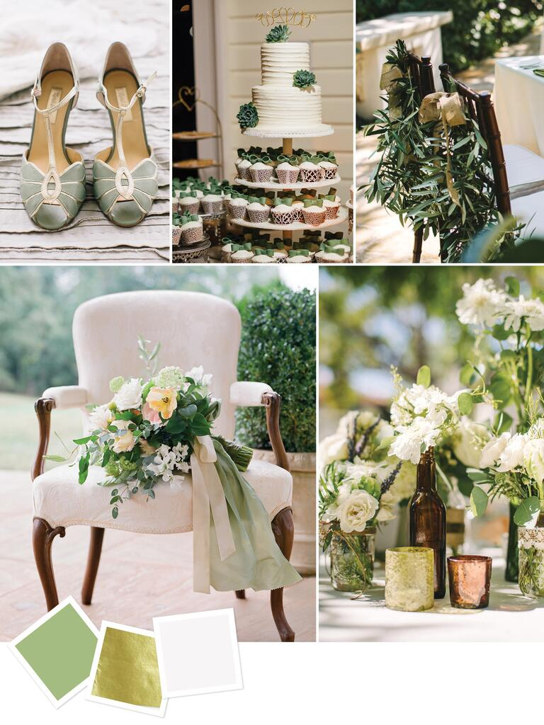 Elegant wedding color inspiration