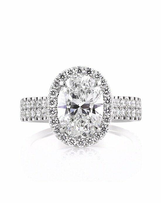 Mark Broumand 3.01ct Oval Cut Diamond Engagement Ring Engagement Ring photo