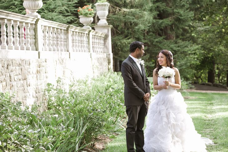 A Romantic Outdoor Wedding at Stan Hywet