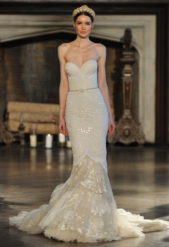 Inbal Dror Wedding Dresses Fall 2015: Bridal Fashion Week Photos!