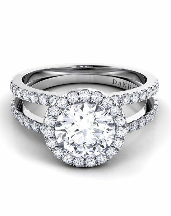 Danhov Per Lei Diamond Shank Engagement Ring photo