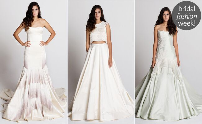 Tara LaTour Spring 2014 Wedding Dresses