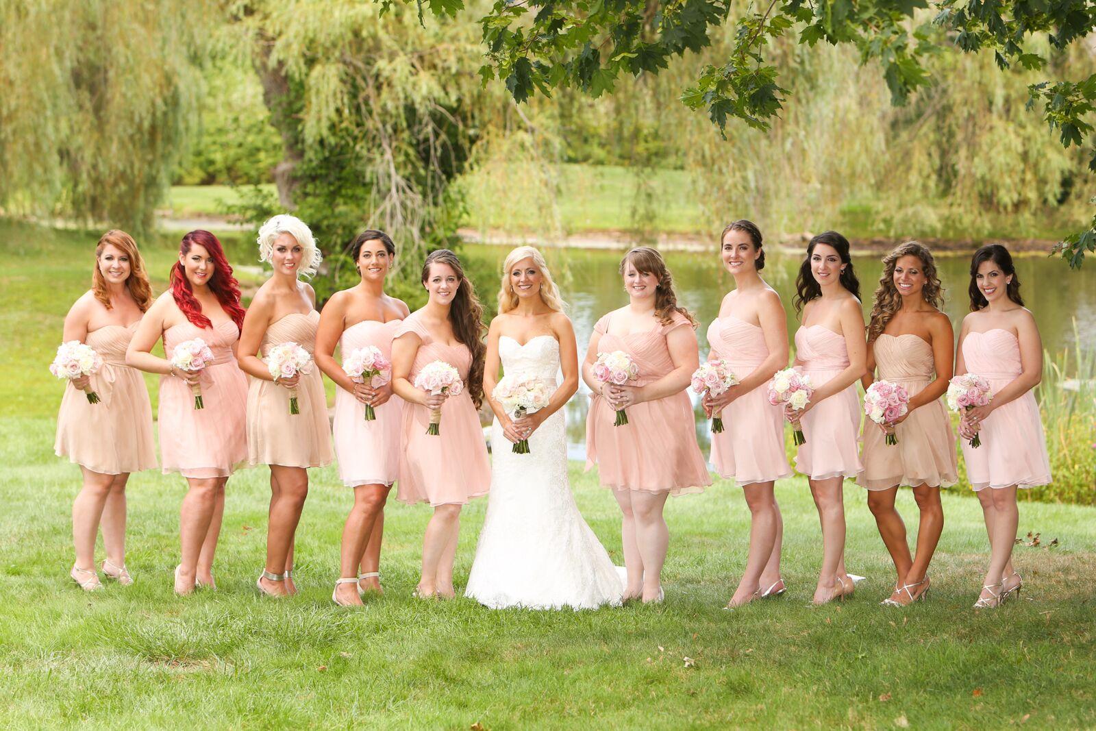 Hot bridesmaids naked — img 4
