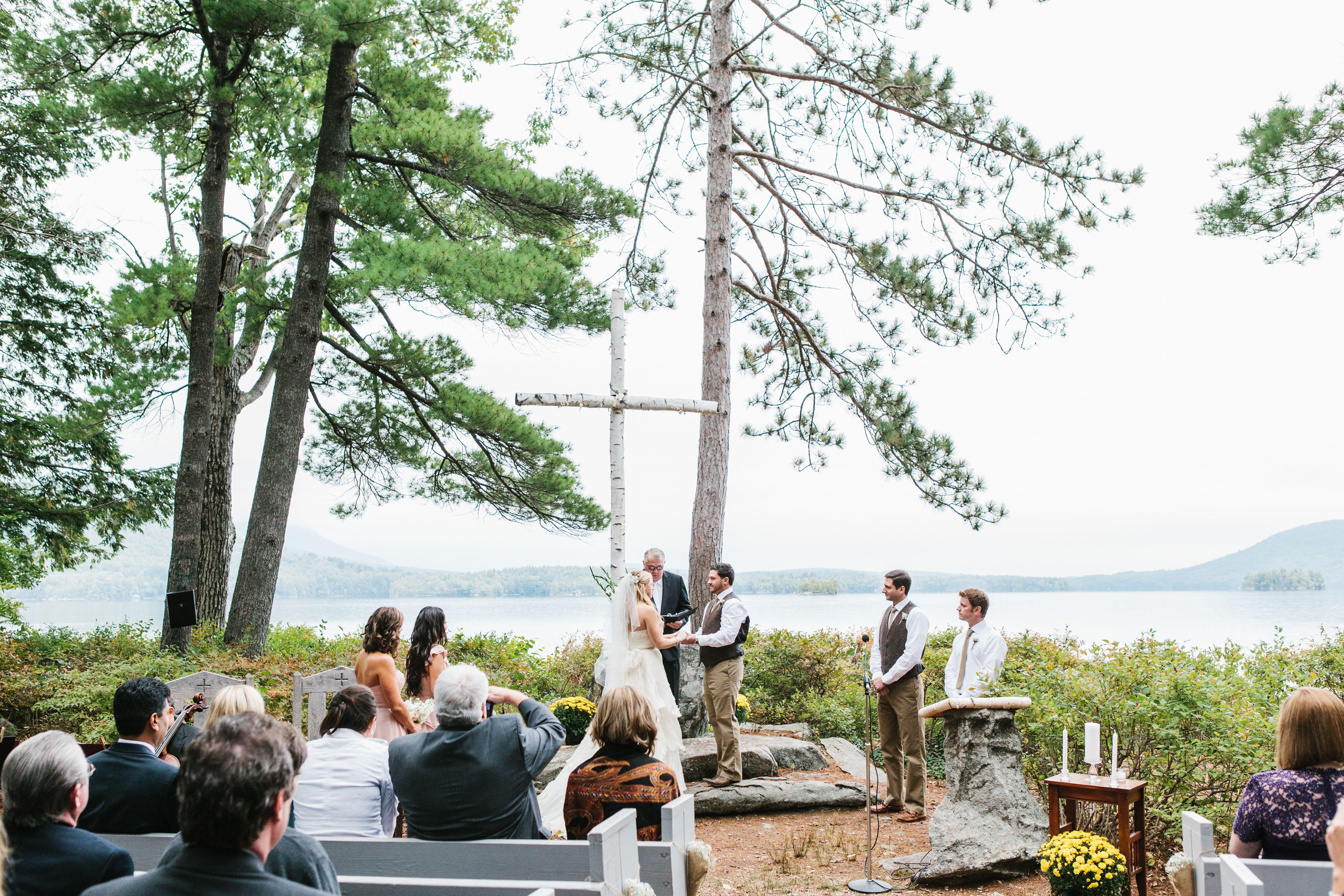 Church Island Wedding Ceremony
