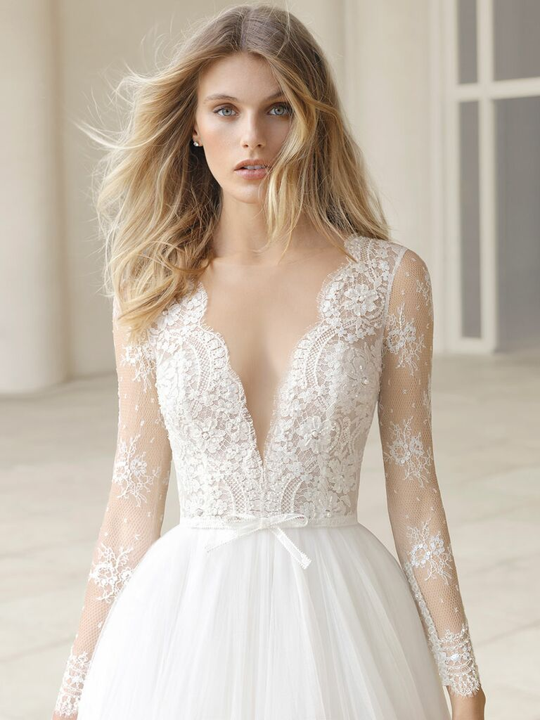 Rosa clar fall 2018 collection bridal fashion week photos rosa clar fall 2018 wedding dresses junglespirit Gallery
