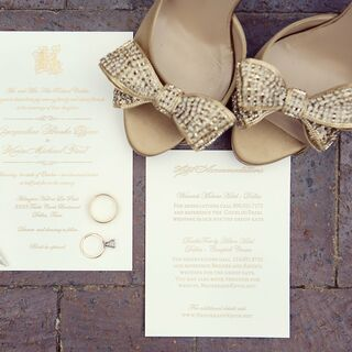 Gold Wedding Invitations ...
