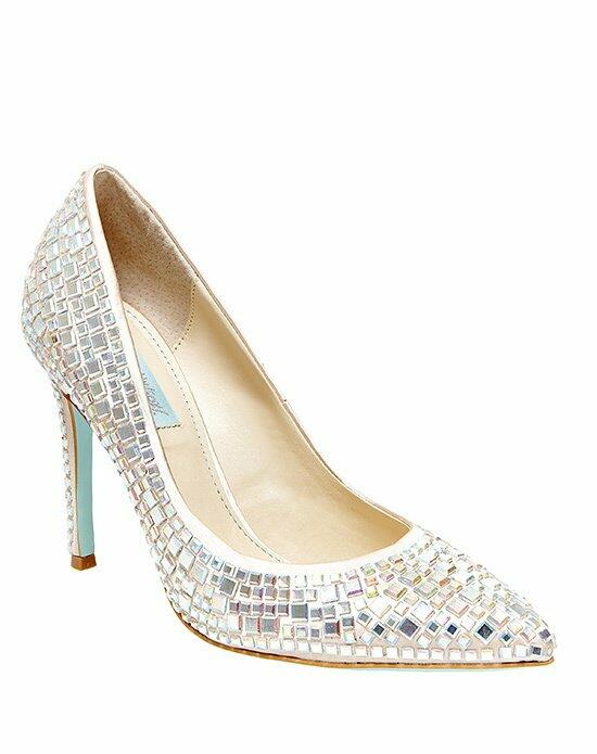 Blue by Betsey Johnson SB-ARIEL - CHAMPAGNE SATIN Wedding Shoes photo