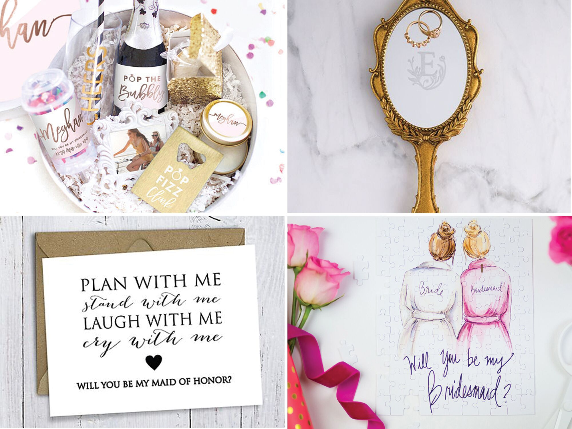 "How To Be The Best Maid Of Honor: 19 Creative Ways To Ask ""Will You Be My Maid Of Honor?"""