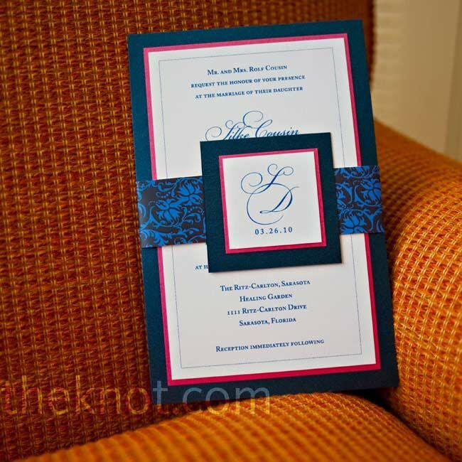Carlton Cards Wedding Invitations: A Traditional Wedding In Sarasota, FL