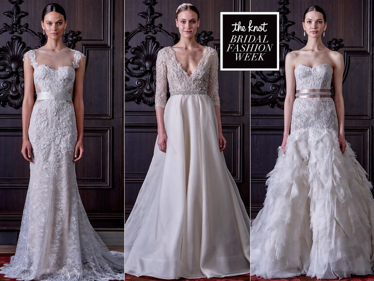 Monique lhuillier spring wedding dresses bridal fashion week photos monique lhuillier wedding dresses from spring 2016 junglespirit Choice Image