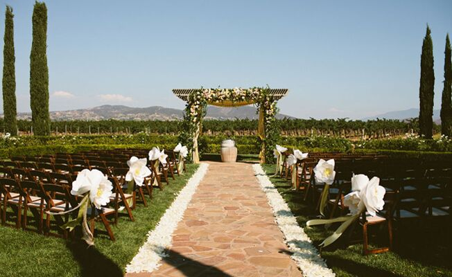 A Summer Vineyard Wedding at Ponte Winery from John & Joseph Photography